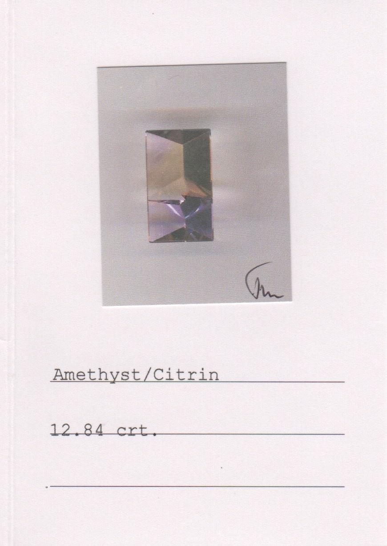 Amethyst & Ametrine Earrings-2