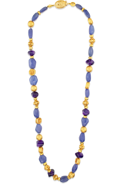 Tanzanite & Amethyst Necklace
