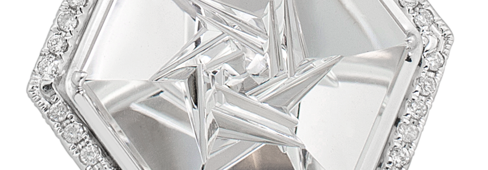 Crystal | Rock Crystal Quartz Ring