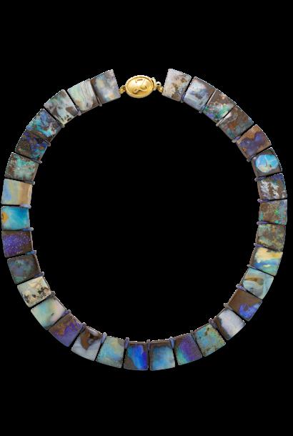 Boulder Opal Collar