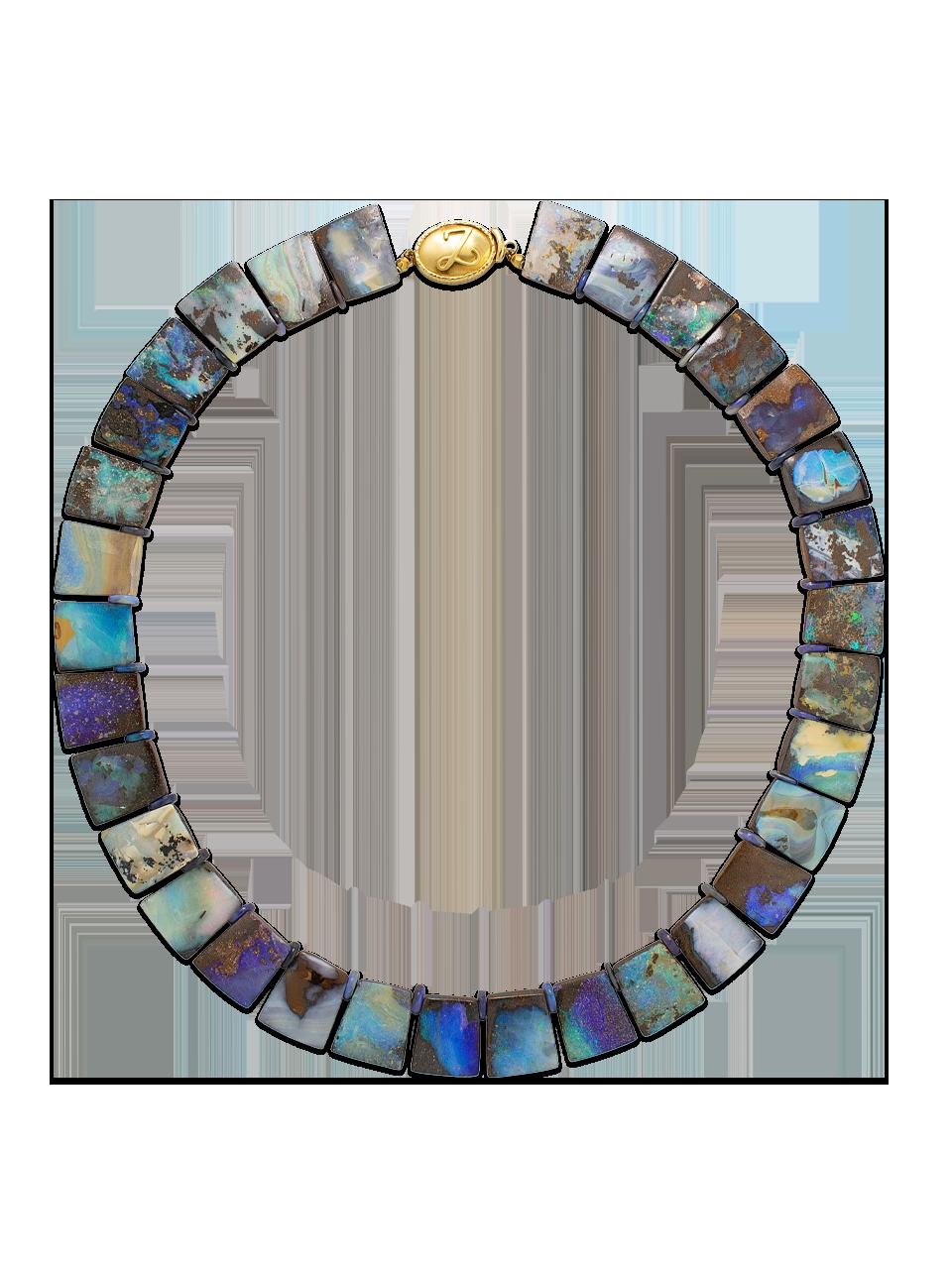 Boulder Opal Collar-1