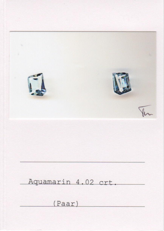 Moonstone & Aquamarine Earrings-2