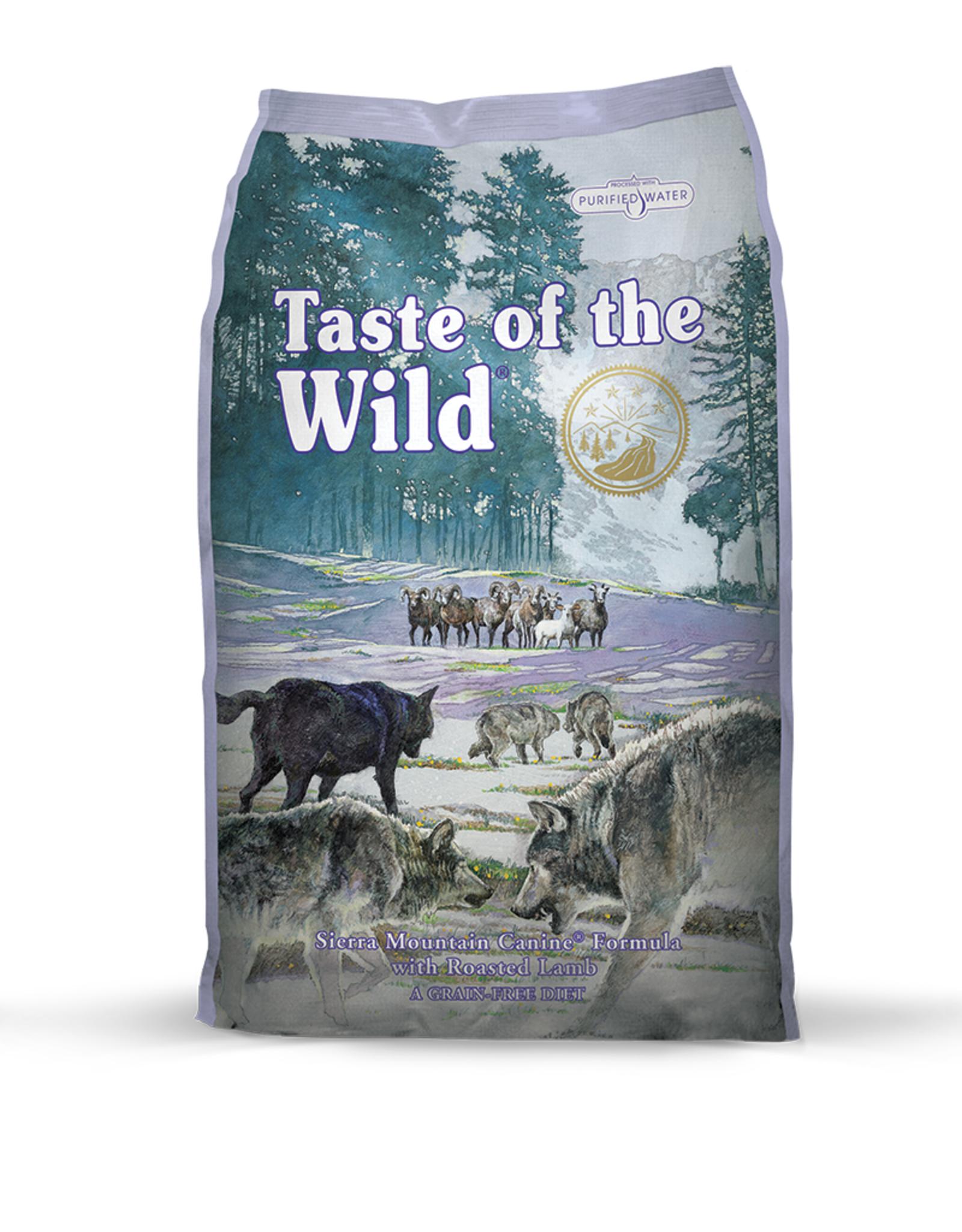 Taste of the Wild Taste of the Wild   Sierra Mountain Canine