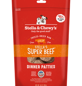 STELLA & CHEWY'S Stella & Chewy's | Super Beef Freeze Dried Patties