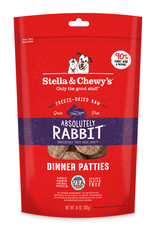 STELLA & CHEWY'S Stella & Chewy's | Absolutely Rabbit Freeze Dried Patties 14 oz.