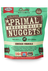 PRIMAL PET FOODS Primal | Freeze Dried Nuggets Canine Chicken Formula 14 oz