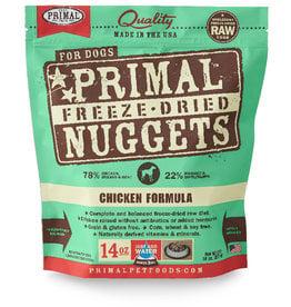 PRIMAL PET FOODS Primal | Freeze Dried Nuggets Canine Chicken Formula 14 oz