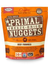 PRIMAL PET FOODS Primal | Freeze Dried Nuggets Canine Beef Formula  14 oz