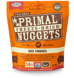 Primal | Freeze Dried Nuggets Canine Beef Formula  14 oz
