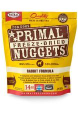 Primal | Freeze Dried Canine 14 oz Rabbit Formula