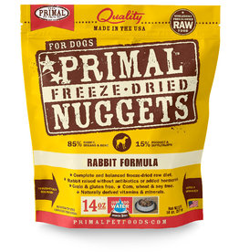 Primal | Freeze Dried Canine 14 oz Rabbit Formula