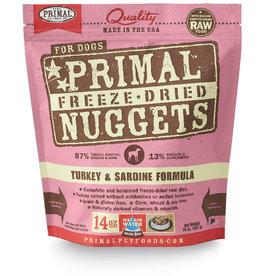 Primal | Freeze Dried Nuggets Canine Turkey & Sardine Formula 14 oz