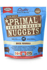 PRIMAL PET FOODS Primal | Freeze Dried Nuggets Canine Duck Formula 14 oz