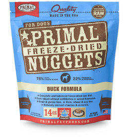 Primal | Freeze Dried Nuggets Canine Duck Formula 14 oz