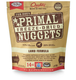 PRIMAL PET FOODS Primal | Freeze Dried Nuggets Canine Lamb Formula 14 oz