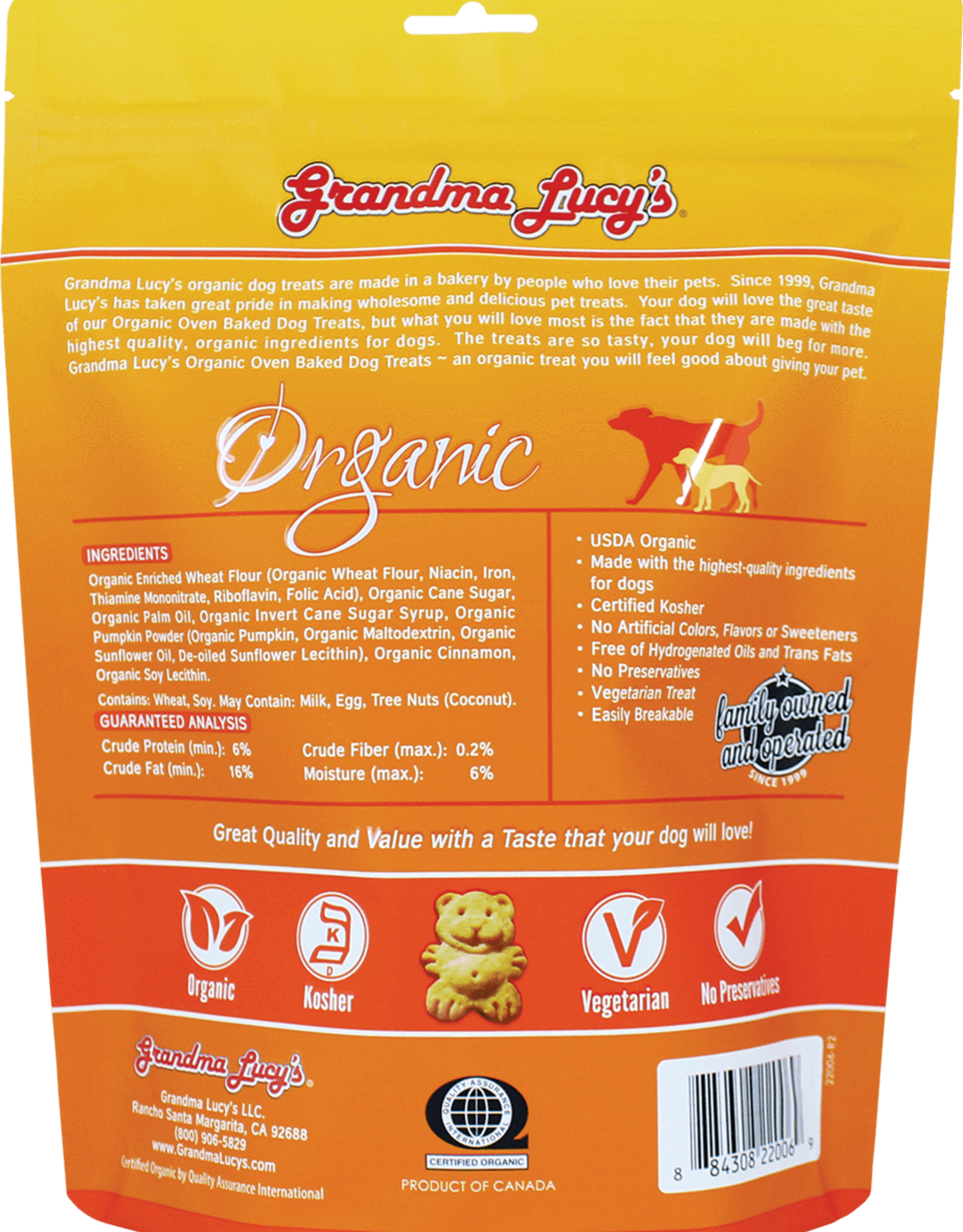 Grandma Lucy's Grandma Lucy Dog Treats