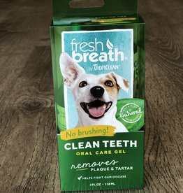 TROPICLEAN Tropiclean | Fresh Breath Oral Care Gel for Dogs 4oz