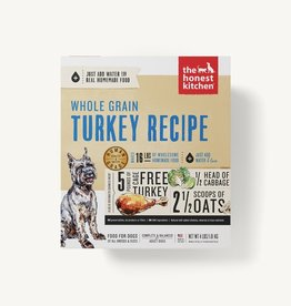 THE HONEST KITCHEN The Honest Kitchen | Whole Grain Turkey Recipe Dehydrated Dog Food (Keen)  box