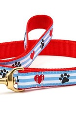 Up Country Up Country | Pawprint Stripe Collars and Leashes