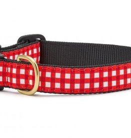 Up Country Up Country | Red Gingham Collars and Leashes