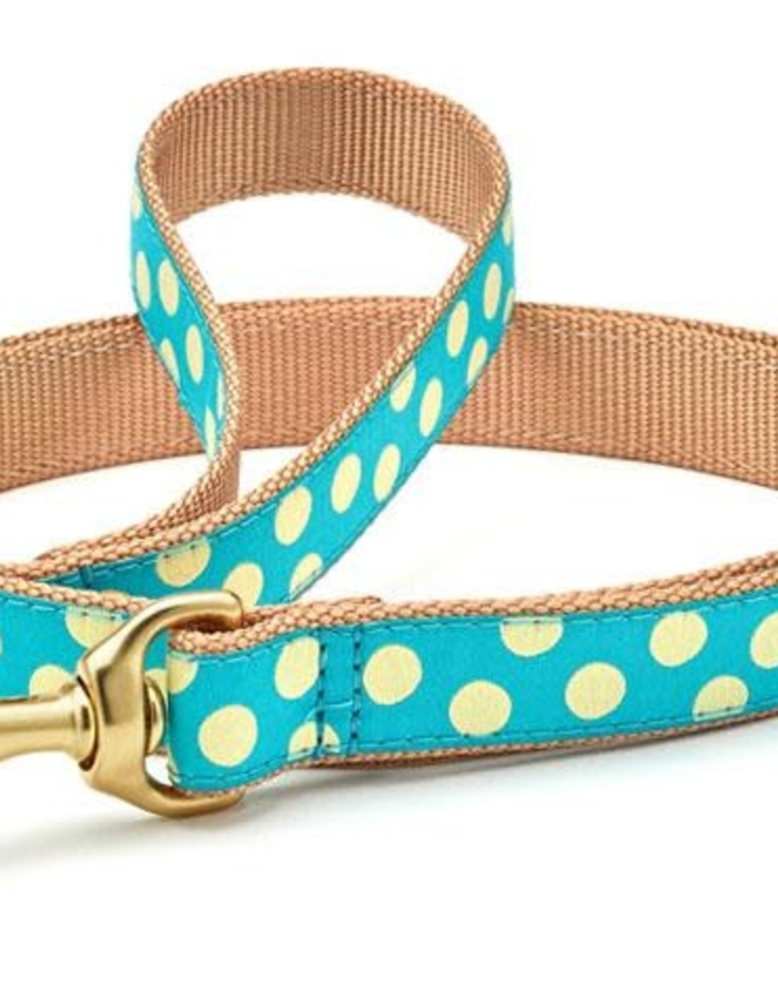 Up Country Up Country | Teal / Yellow Collars and Leashes