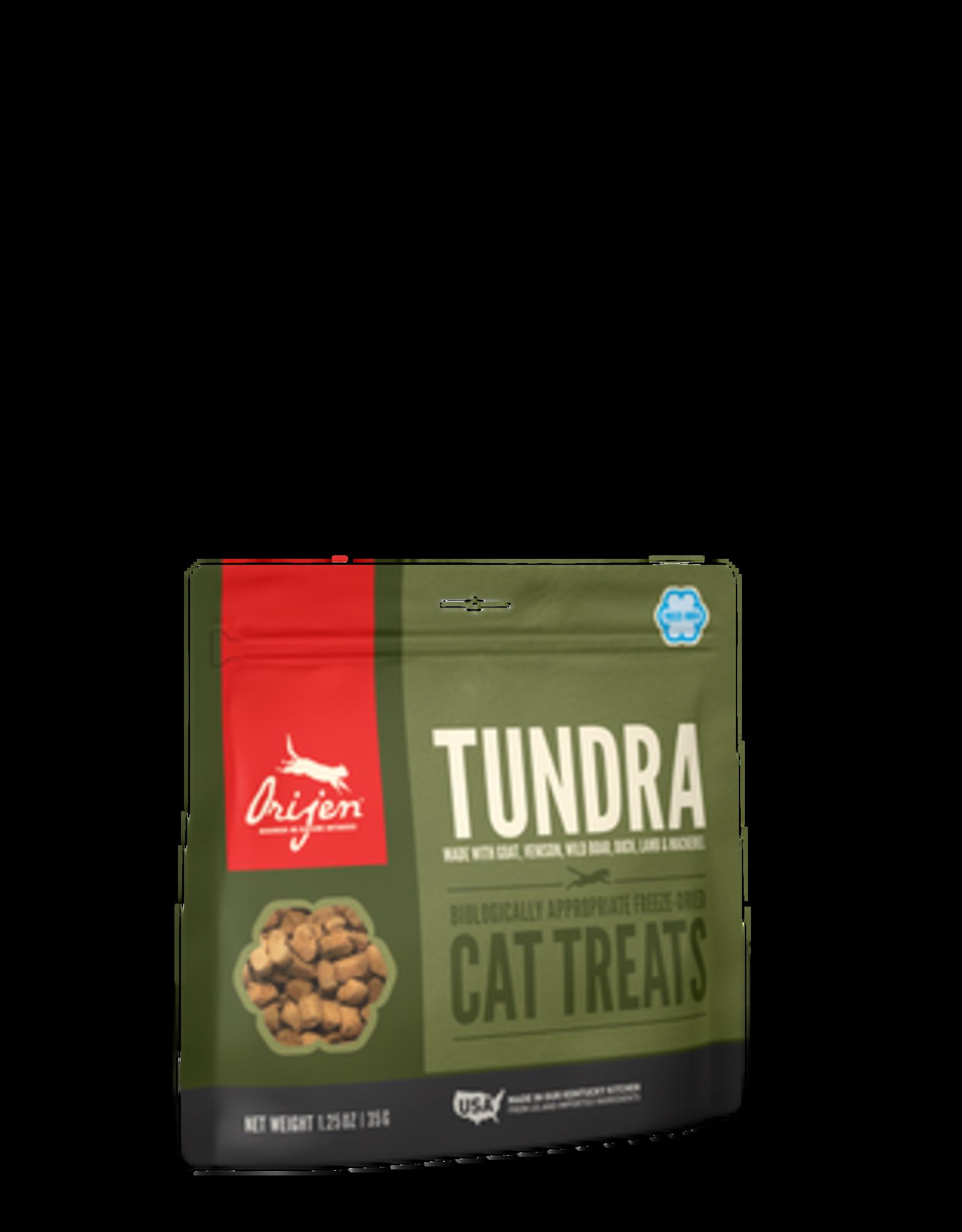 Orijen Orijen Freeze Dried Cat Treats Tundra Recipe with Goat, Venison, Wild Boar, Duck, Lamb, & Mackerel 1.25oz