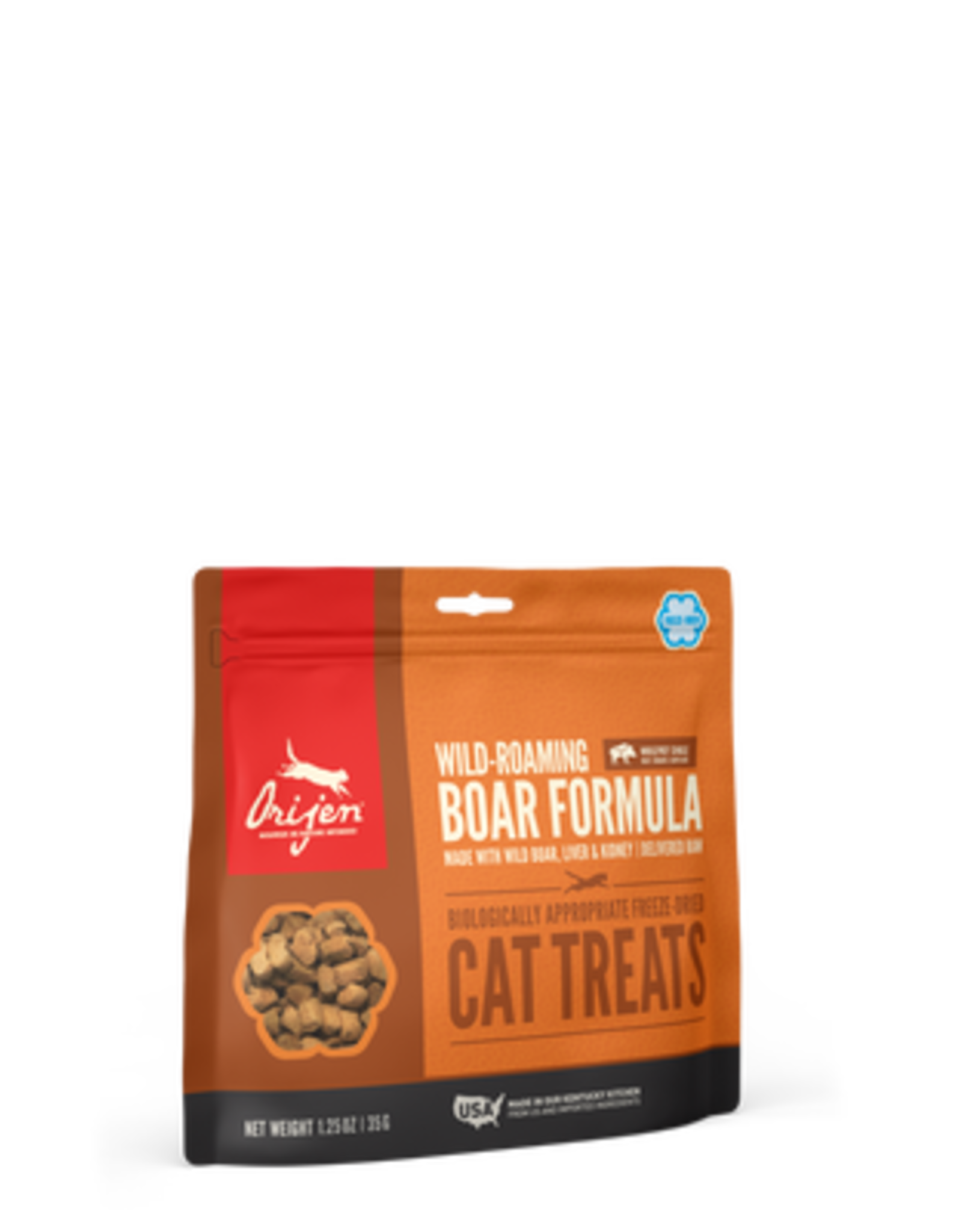 Orijen Orijen Freeze Dried Cat Treats Wild-Roaming Boar Recipe with Wild Boar, Liver, & Kidney 1.25oz