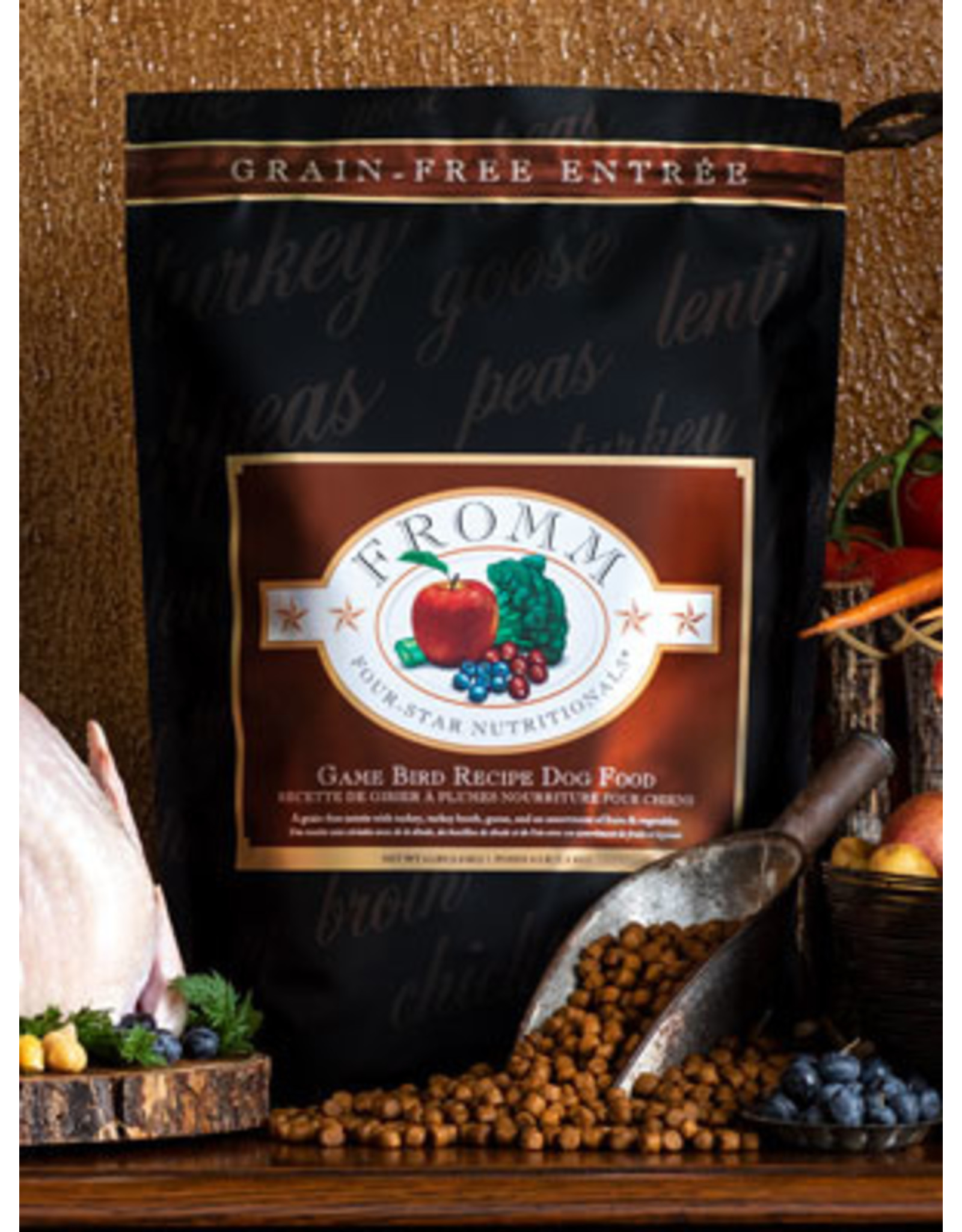 Fromm Fromm Dry Dog Food 4Star Nutritionals Game Bird Recipe Turkey, Goose, & Fruit & Vegetables Grain Free
