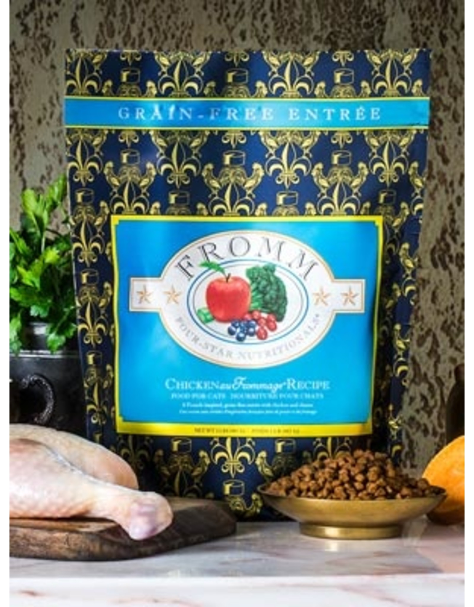 Fromm Fromm Dry Cat Food 4Star Nutritionals Chicken au Frommage Recipe Chicken, Cheese, & Fruits & Vegetables Grain Free