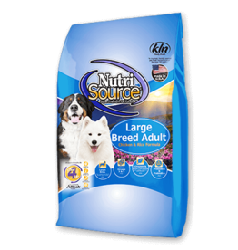 NutriSource NutriSource Dog Dry Lg Breed Adult Chicken & Rice 30lb