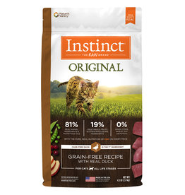 Nature's Variety NV Cat Instinct Dry Original Duck GF