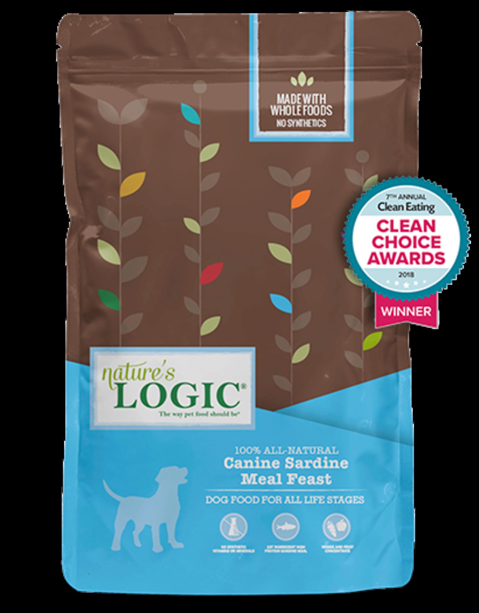 Nature's Logic Nature's Logic Dry Dog Food Original Sardine Meal Feast