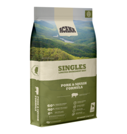 Acana Acana Dog Dry Singles LID Pork & Squash GF