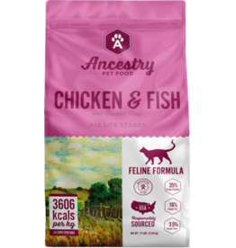 Ancestry Ancestry Cat Dry Chicken & Fish GF 4lb