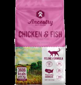 Ancestry Ancestry Cat Dry Chicken & Fish GF 4lb