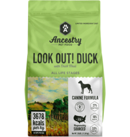 Ancestry Ancestry Dog Dry LID Look Out! Duck GF