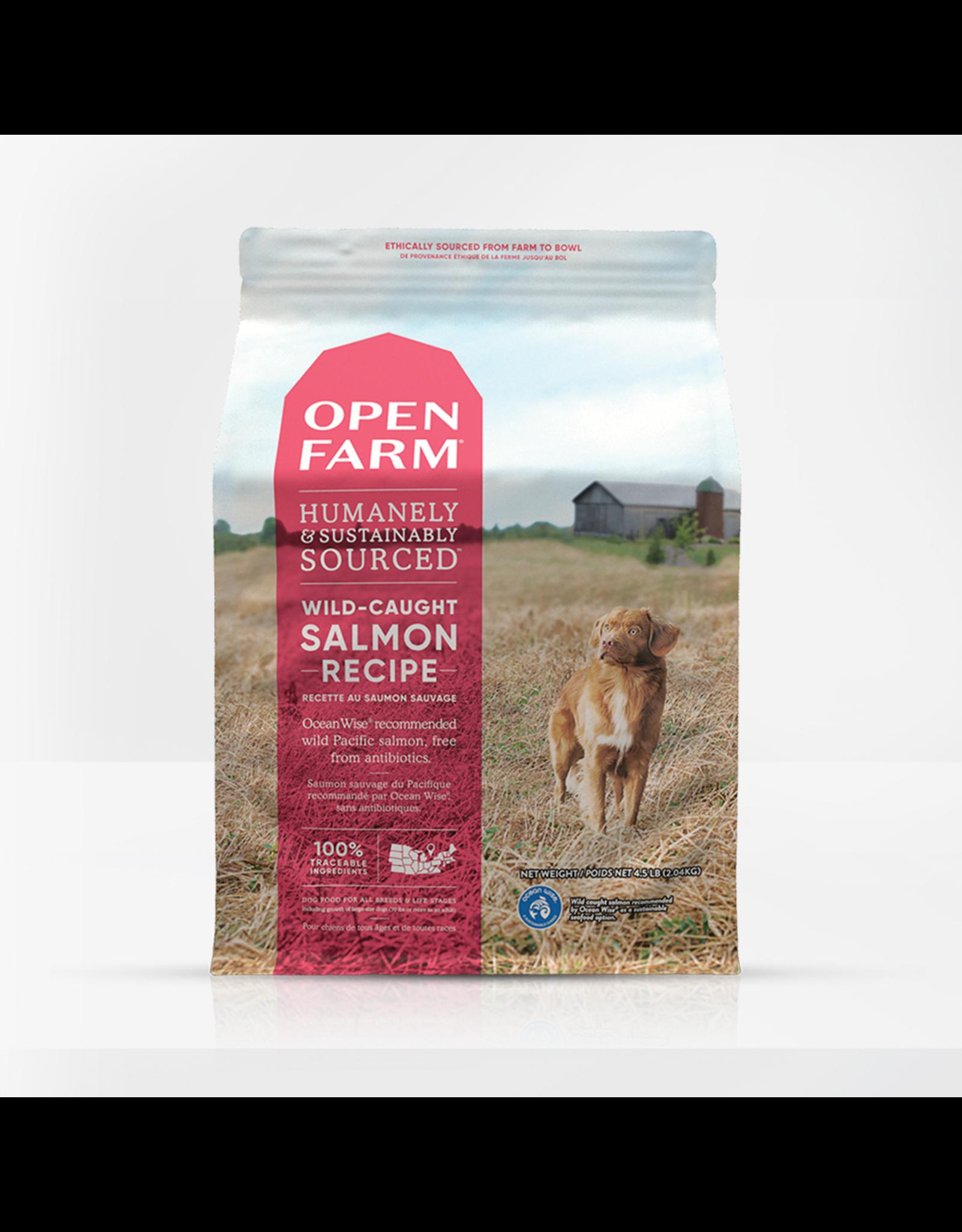 Open Farm Open Farm Dry Dog Food Wild Caught Salmon Recipe Grain Free