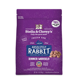 Stella and Chewys Stella & Chewy's Cat Frozen Raw Rabbit 1lb