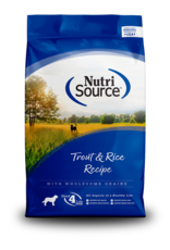 NutriSource NutriSource Dry Dog Food Trout & Rice Formula Grain Inclusive