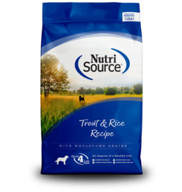 NutriSource NutriSource Dog Dry Trout & Rice