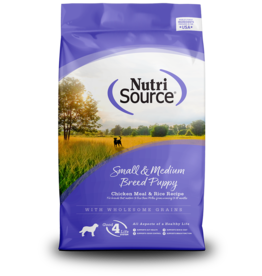 NutriSource NutriSource Dog Dry Sm/Med Breed Puppy Chicken & Rice