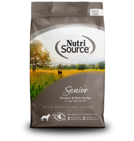 NutriSource NutriSource Dog Dry Senior Chicken & Rice