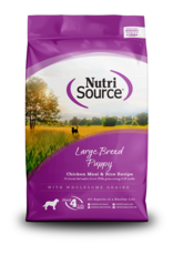 NutriSource NutriSource Dry Dog Food Large Breed Puppy Chicken & Rice Recipe Grain Inclusive