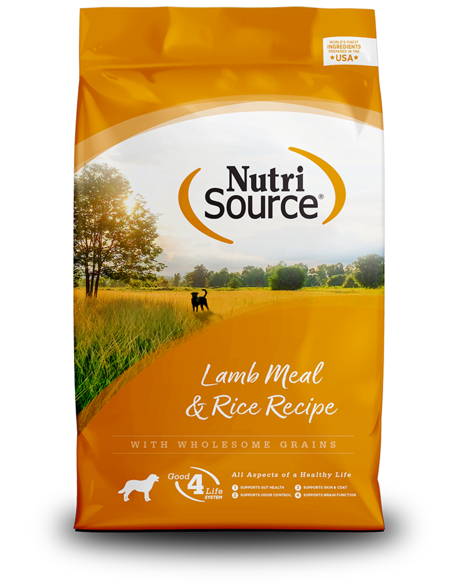NutriSource NutriSource Dry Dog Food Lamb Meal & Rice Formula Grain Inclusive