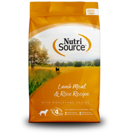 NutriSource NutriSource Dog Dry Lamb & Rice