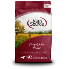 NutriSource NutriSource Dog Dry Beef & Rice