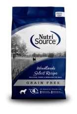 NutriSource NutriSource Dry Dog Food Woodlands Select Recipe Wild Boar, Turkey, & Menhaden Fish Meal Grain Free