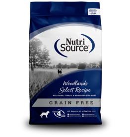 NutriSource NutriSource Dog Dry GF Woodlands Select