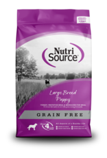 NutriSource NutriSource Dry Dog Food Large Breed Puppy Recipe Turkey, Whitefish Meal, & Menhaden Fish Meal 30lb Grain Free