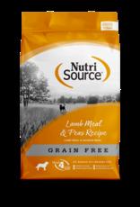 NutriSource NutriSource Dry Dog Food Lamb Meal & Peas Recipe Grain Free